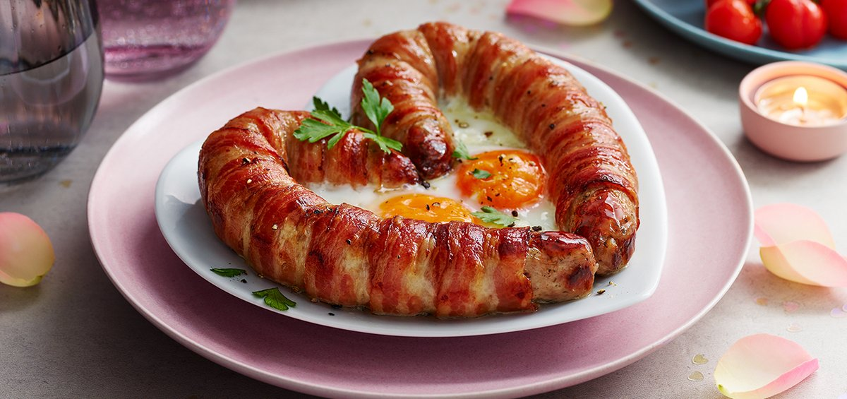M&S is offering a 'Love Sausage' this Valentine's Day. Credit: Marks & Spencer
