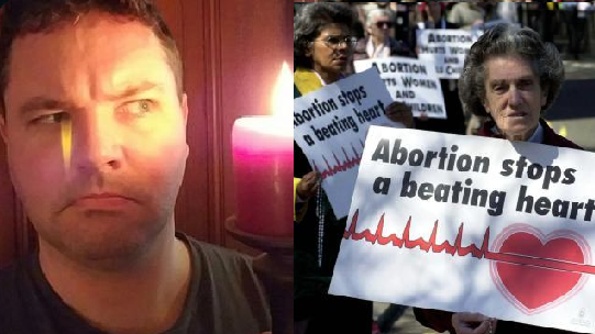 Man Poses Important Question For Anti-Abortion Campaigners