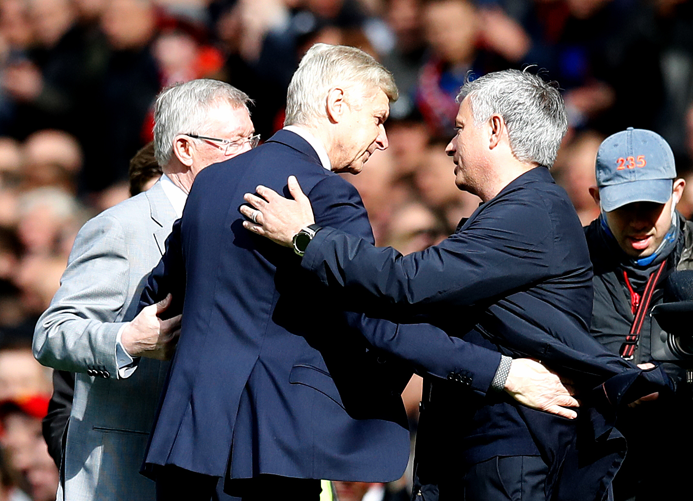 Arsene Wenger And Jose Mourinho Join Forces To Be Pundits