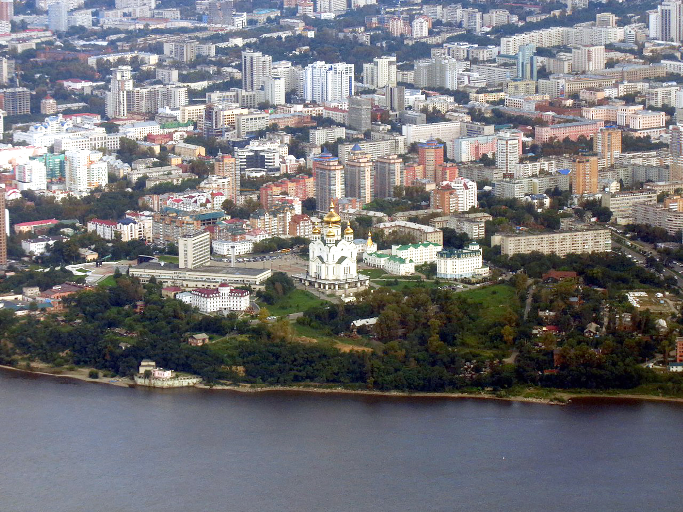 The city of Khabarovsk. Credit: East2West News