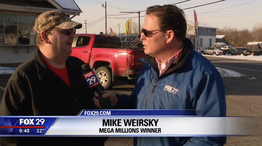 Mike Weirsky speaking to Fox. Credit Fox