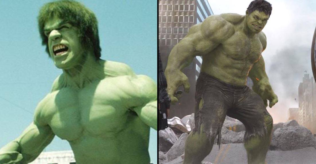 The Hulk used to just be a hench guy painted green. Credit: ABC/Disney