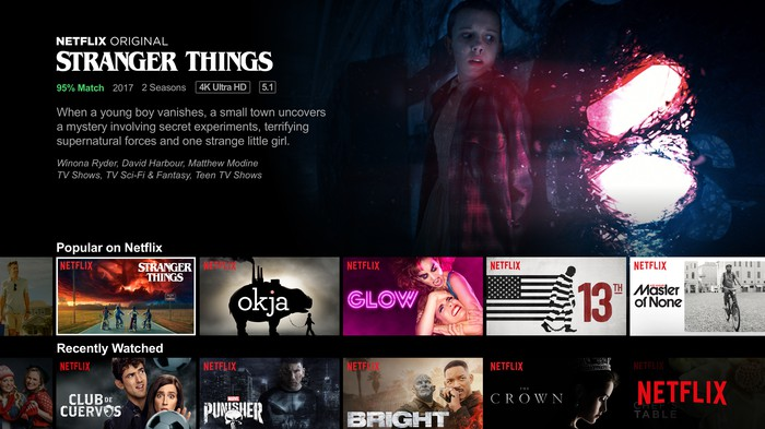 Microsoft wants Project xCloud to be the Netflix of gaming. Credit: Netflix