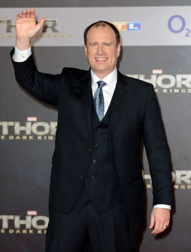 Producer Kevin Feige arrives for the premiere of the movie 'Thor - The Dark Kingdom' in Berlin. Credit: PA