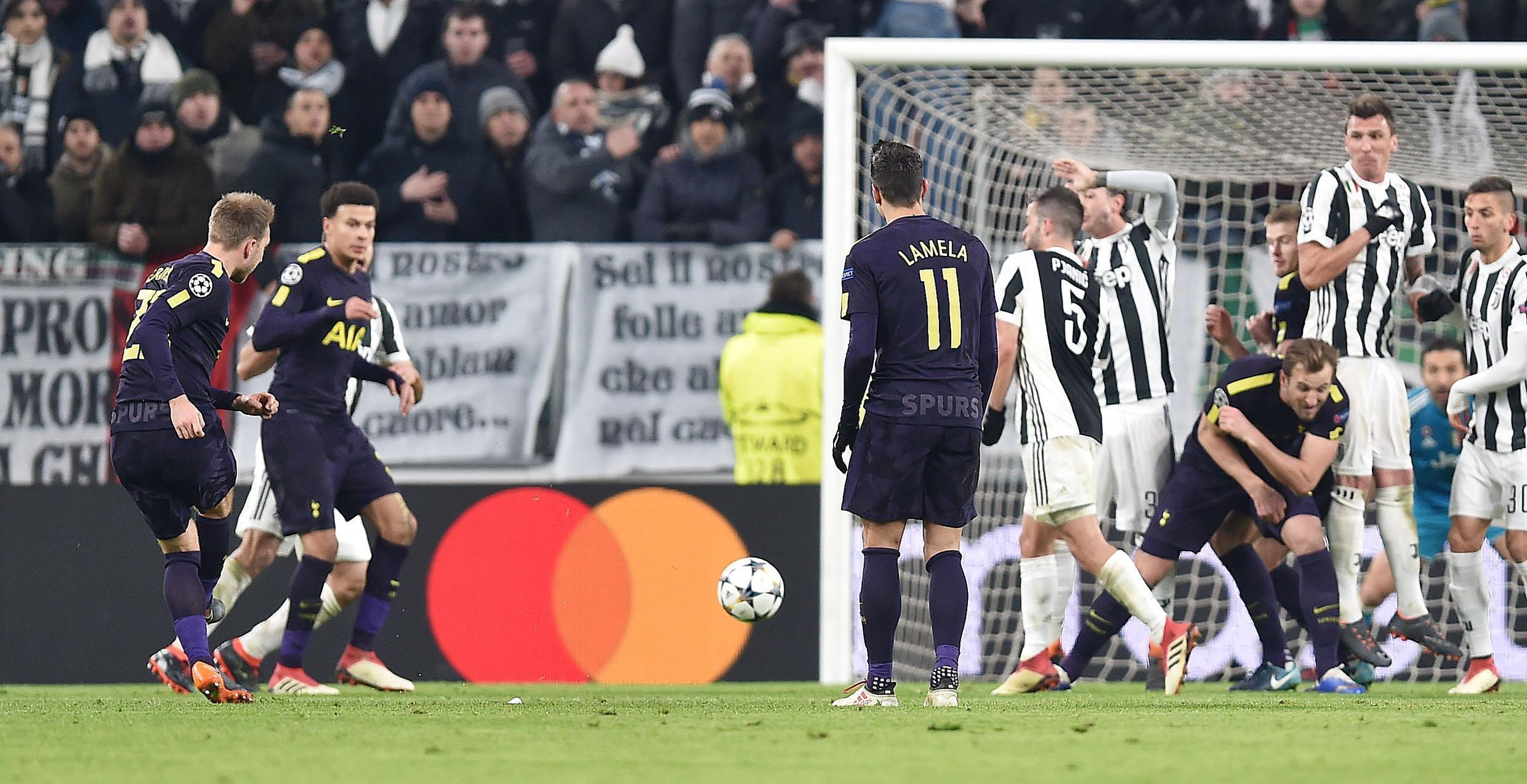 Kane leads Spurs' recovery to draw 2-2 at Juventus