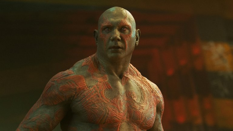 Drax in 'Guardians of the Galaxy'. Credit: Disney