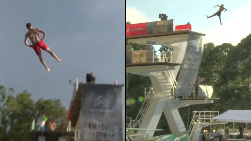 Norwegian Death Diving Championships Is Everyone's New Favourite Sport