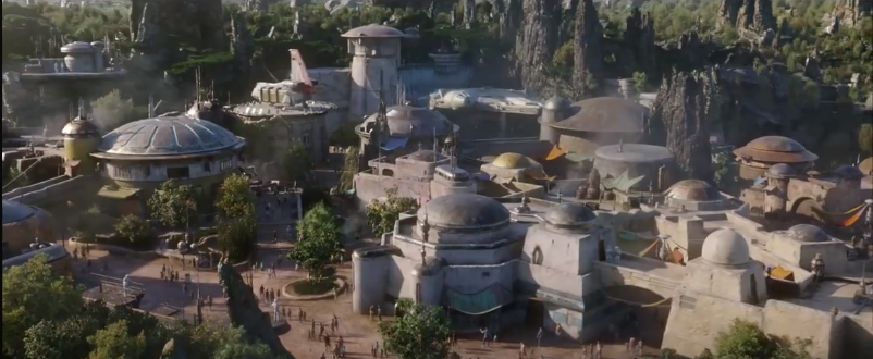 Disney Confirms Star Wars Land Is Almost Finished With New Trailer. Credit: Disney