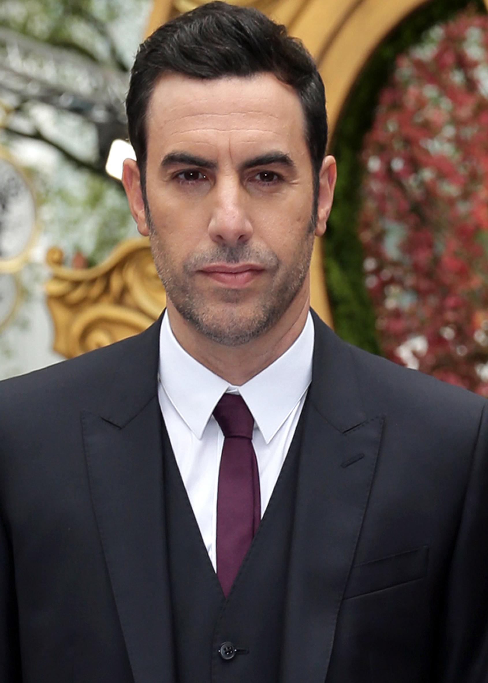 Sacha Baron Cohen Reveals Who Is America? Scene Too Dark ...Sacha Baron Cohen Wiki