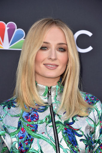 Sophie Turner at the 2019 Billboard Music Awards at MGM Grand Garden Arena. Credit: PA