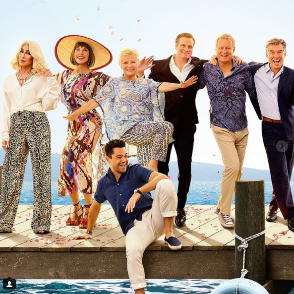 Cher Flourishes in the Final 'Mamma Mia! Here We Go Again' Trailer