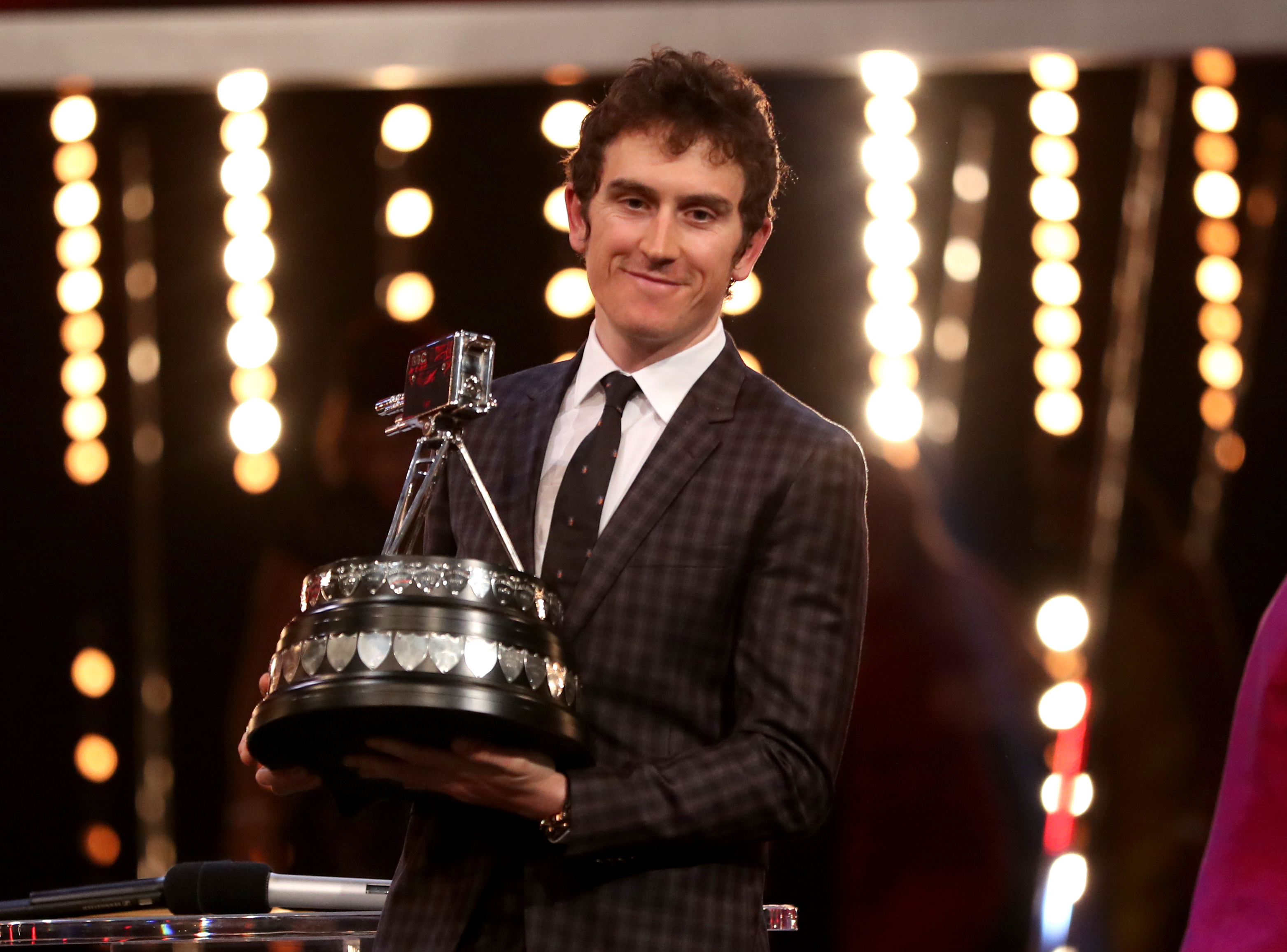 Geraint Thomas wins the BBC Sports Personality of the Year award