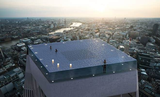 Skyscraper with infinity pool to launch in London