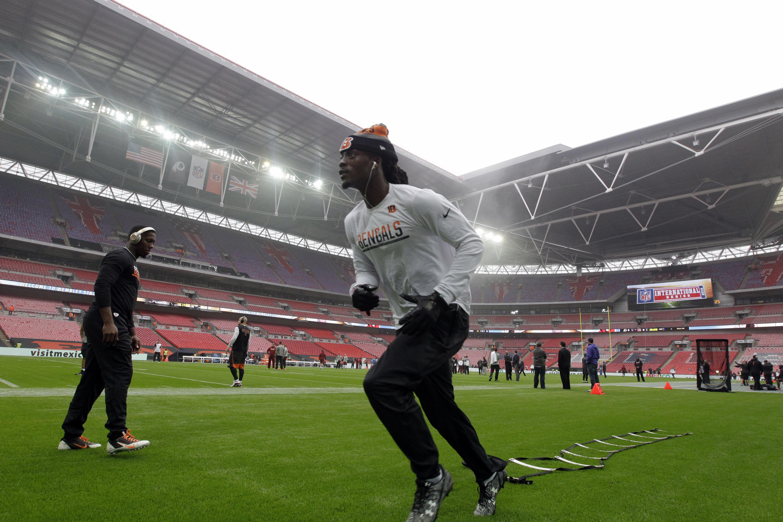 NFL Wembley backdrop