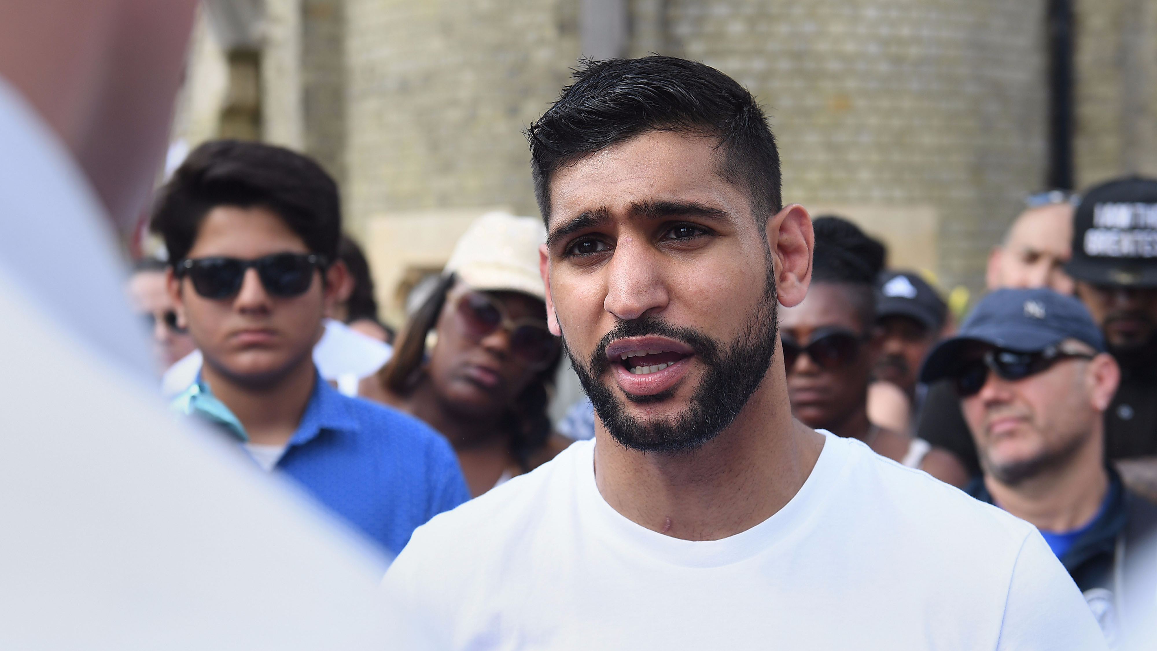 Amir Khan Caught Saying 'I'm A Celeb' Is For 'Has Beens' As He Joins Jungle
