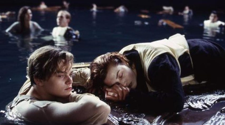 Leonardo DiCaprio and Kate Winslet in Titanic. Credit: 20th Century Fox