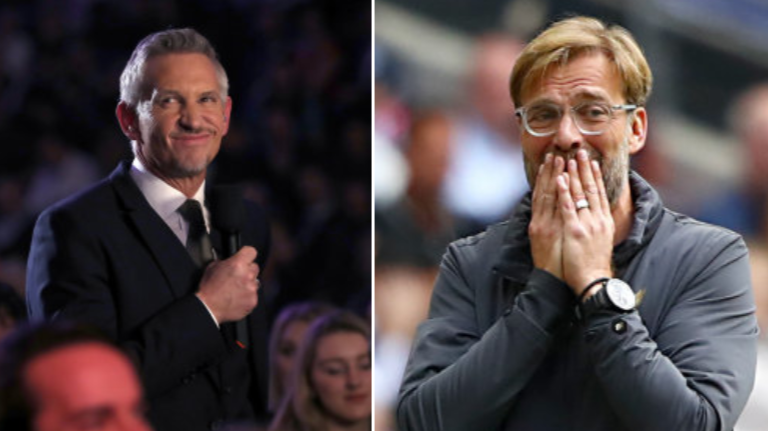 Gary Lineker Issues Brilliant Apology To Liverpool Star