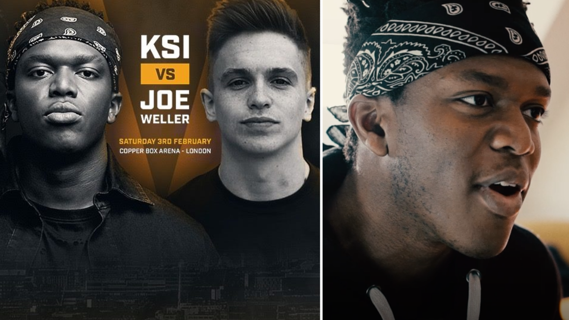 EXCLUSIVE: KSI Speaks About His Upcoming Fight With Joe Weller