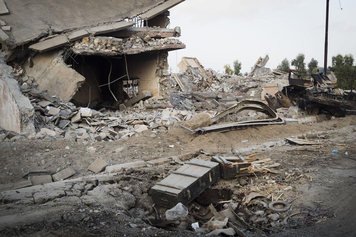 Mosul rubble