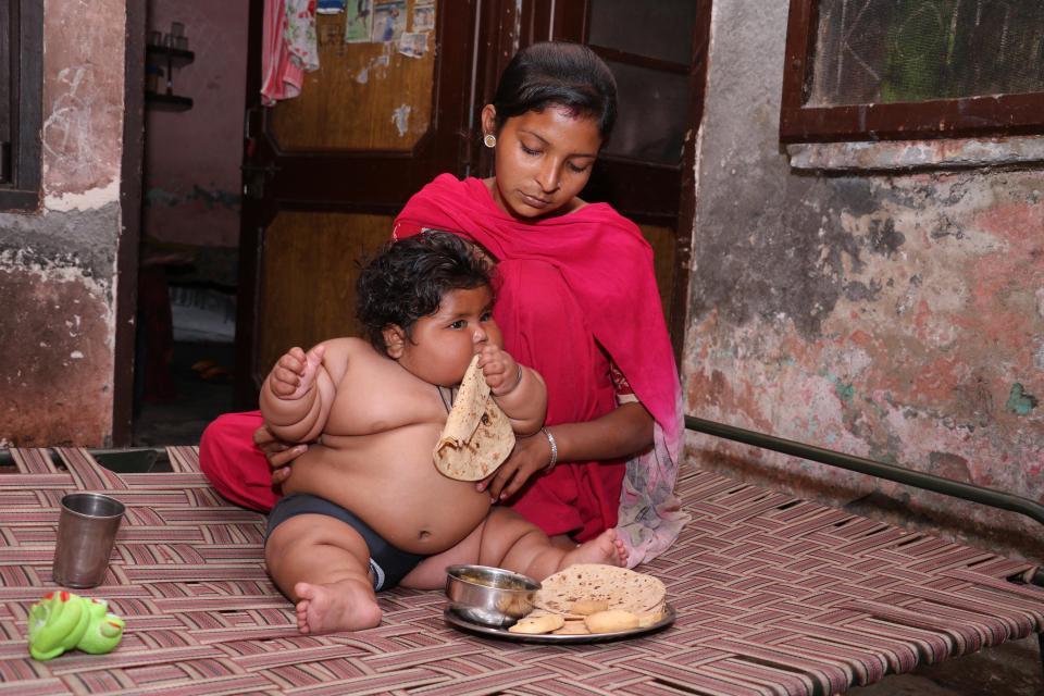 Ребенок в 2 года весит 17 кг