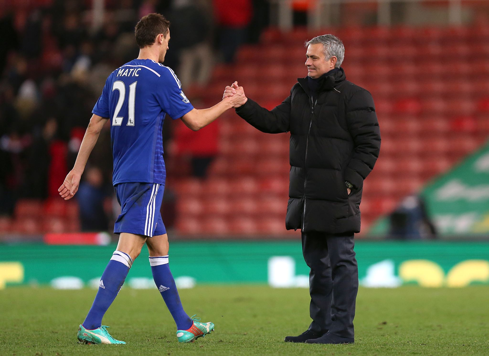 Jose Mourinho says Nemanja Matic is the best he's worked with