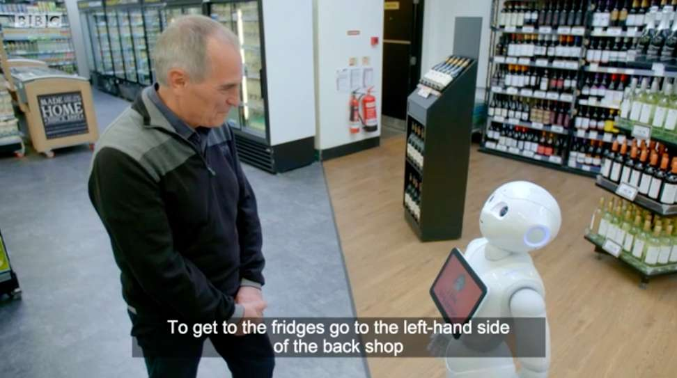 Robot Shop Assistant Fired After One Week for Irritating and Confusing Customers
