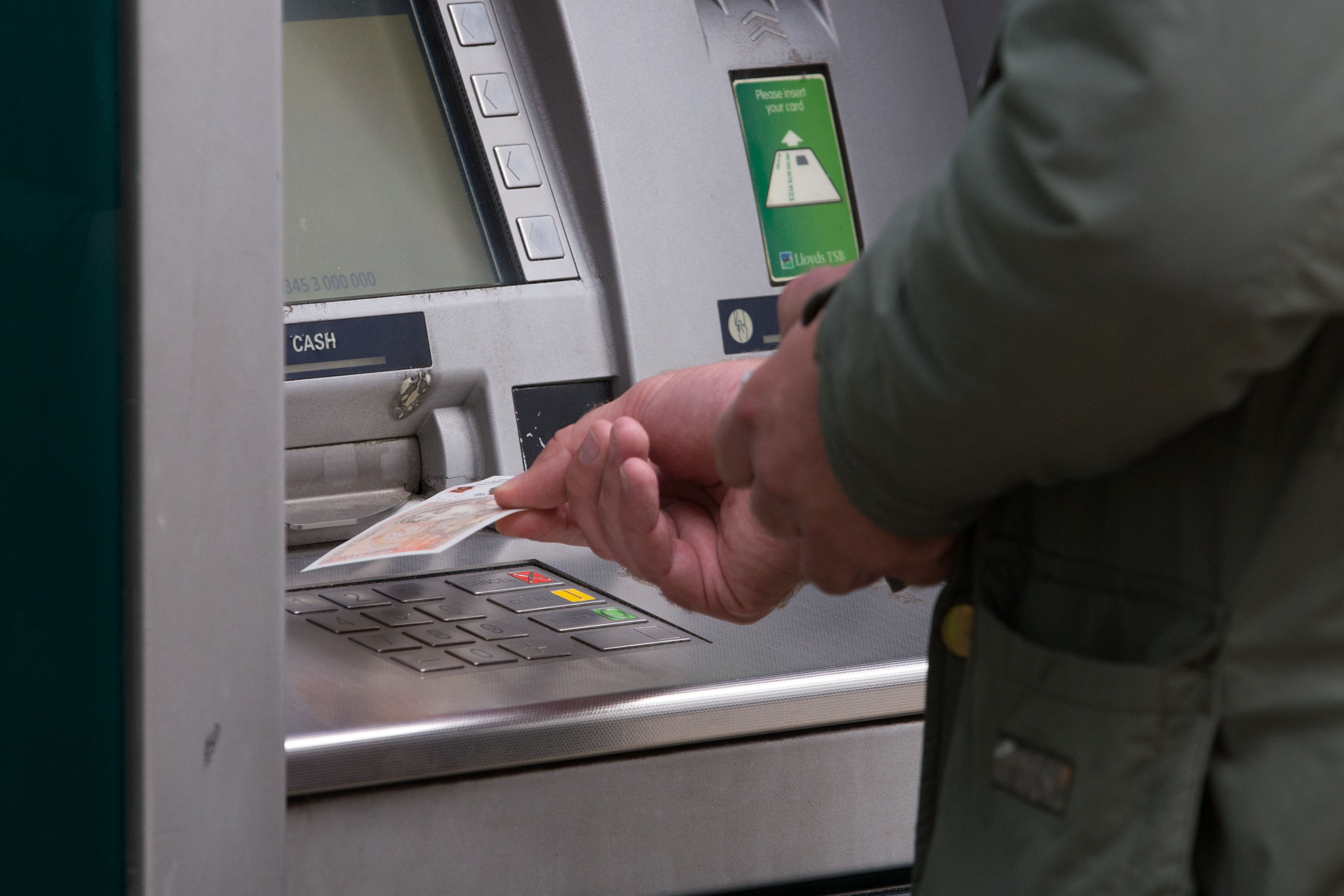 The number of free cash machines in the UK has been in decline for many years. Credit: PA