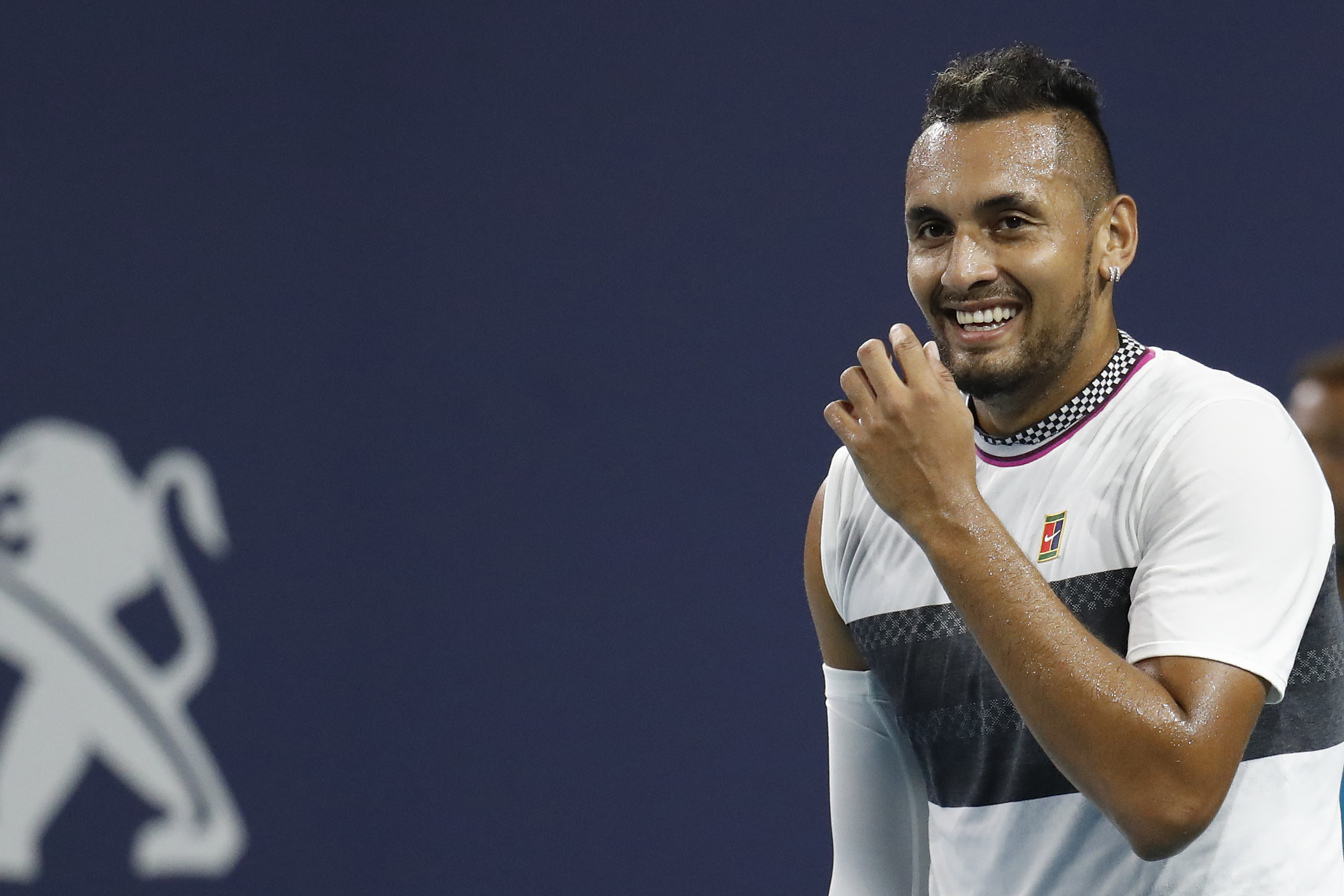 Kyrgios won relatively easily. Image: PA Images