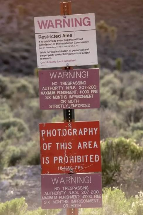 A group of more than 800,000 people are planning to storm Area 51 armed with pebbles. Credit: Stock Connection/Shutterstock