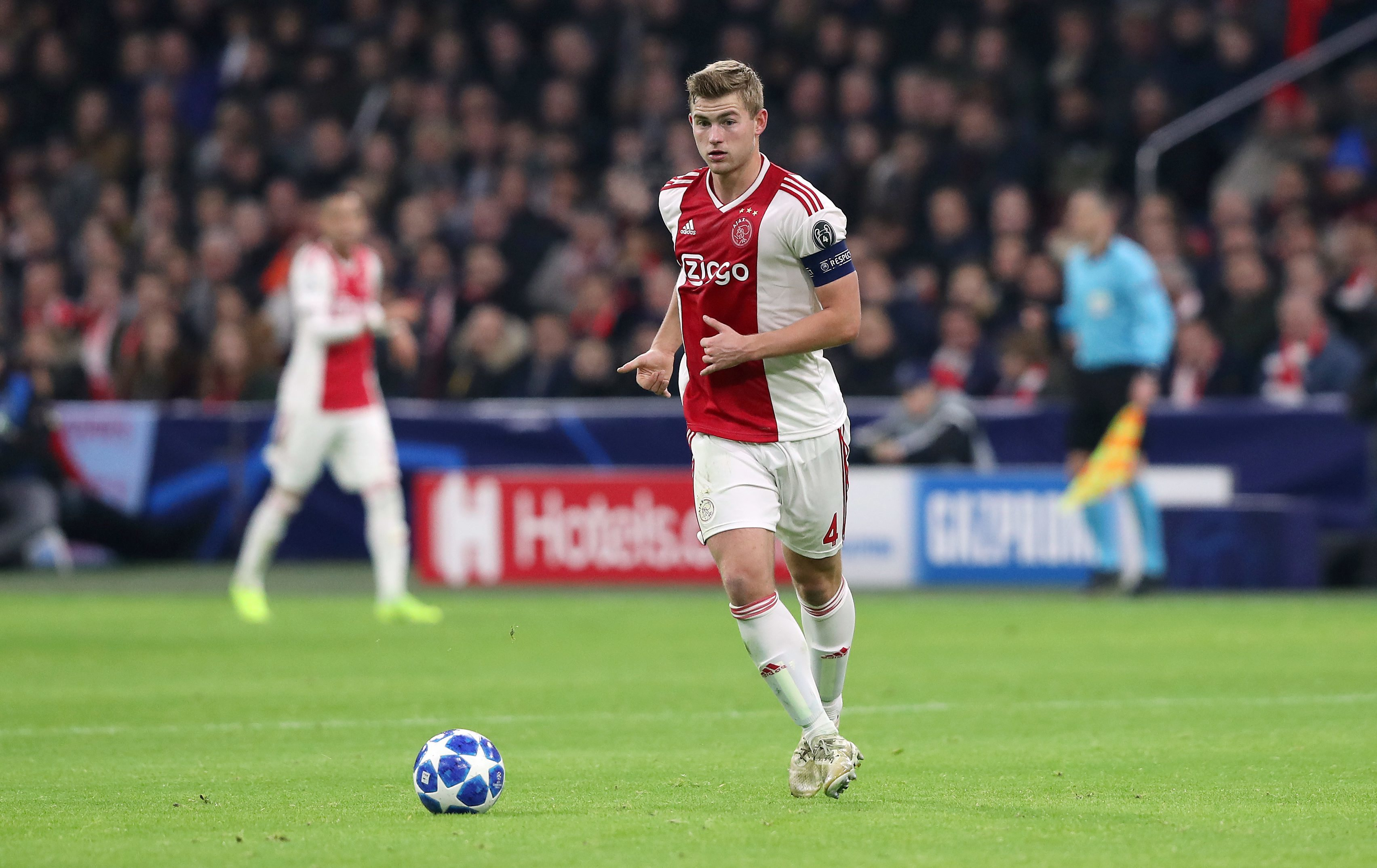 Transfer: De Ligt's £70million transfer to be announced Monday