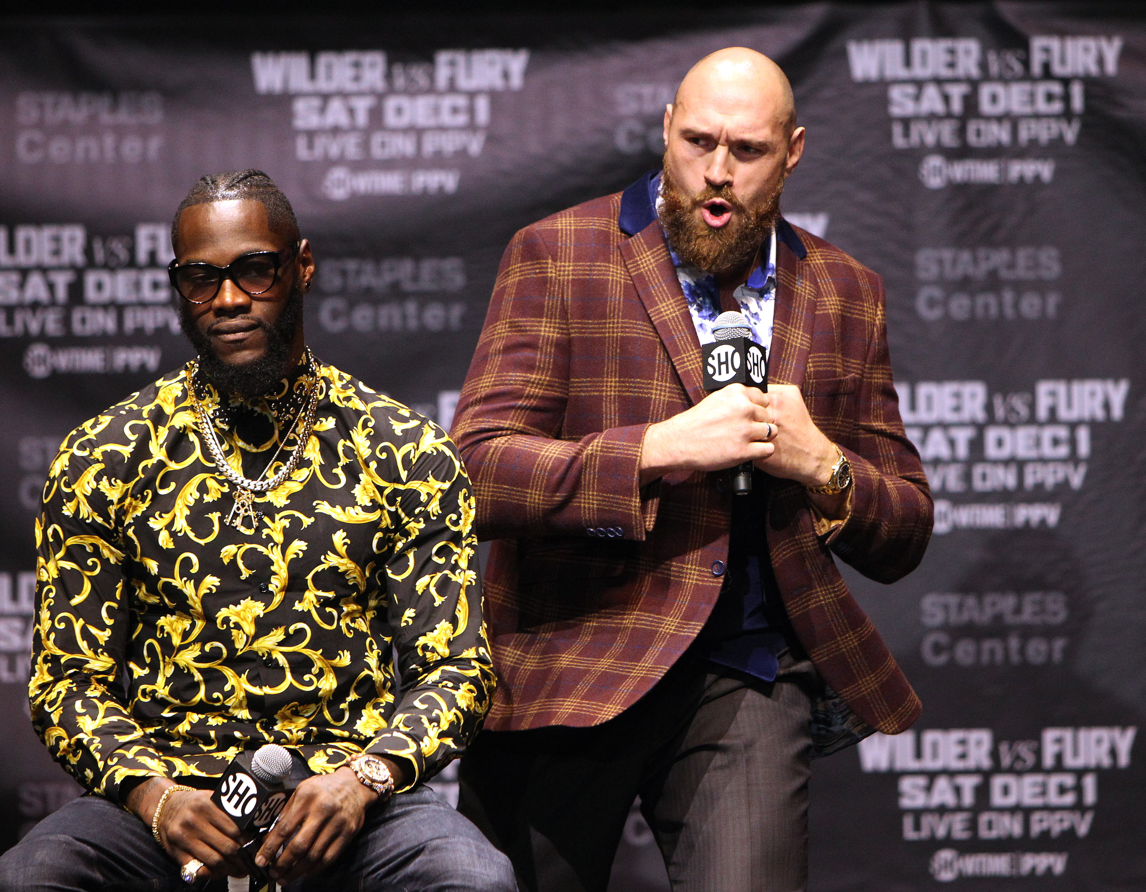 Wilder and Fury have swapped insults at several press conferences. Image: PA Images
