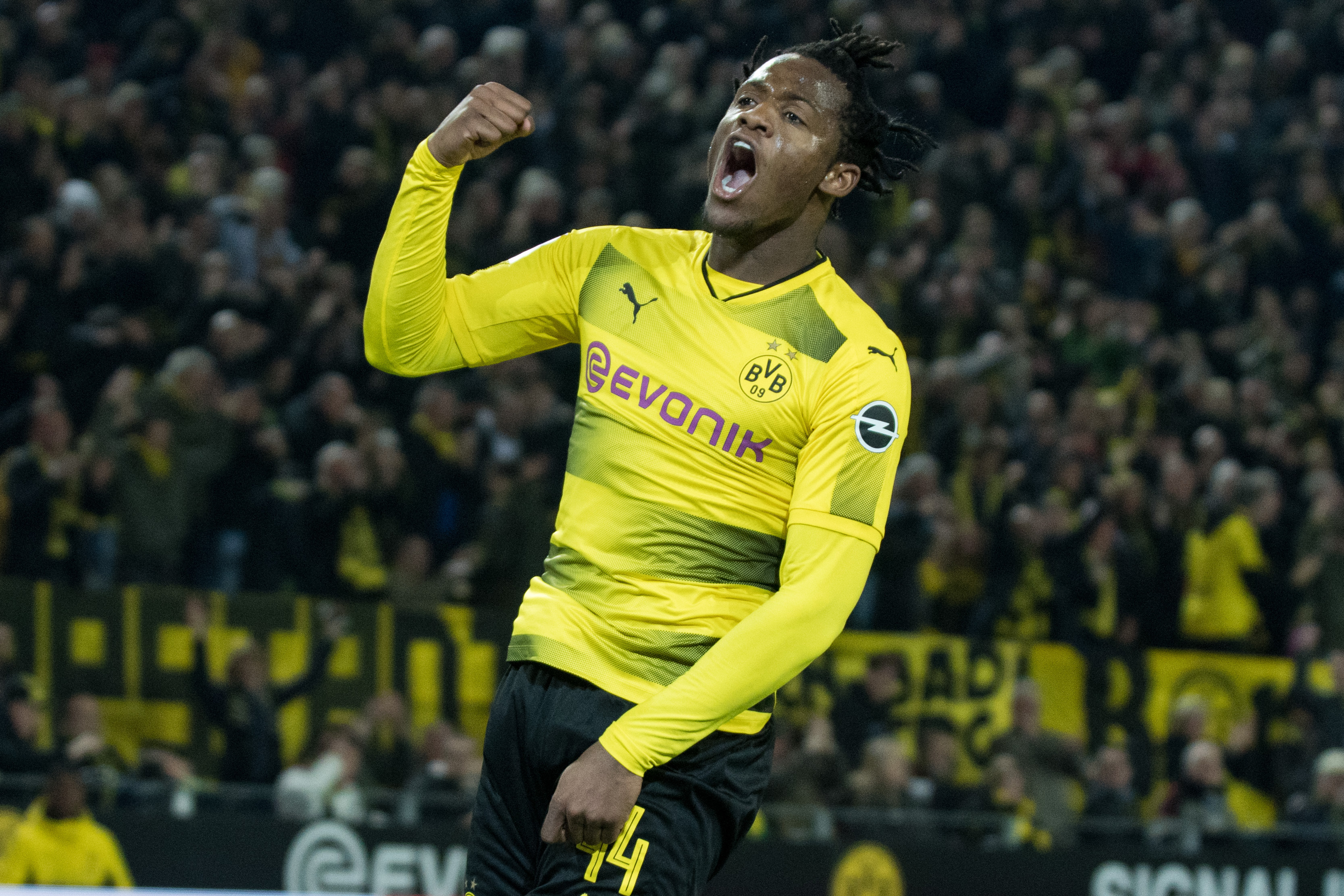 Michy Batshuayi Coy On Future Despite Dortmund Loan Success
