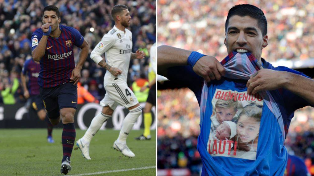 Luis Suarez Scores Hat-Trick As Barcelona Thrash Real Madrid 5-1 In El Clasico