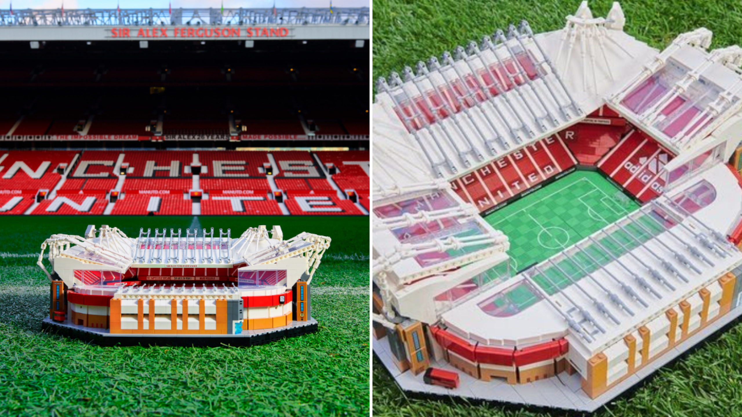 manchester united lego release 3898 piece set of old trafford sportbible
