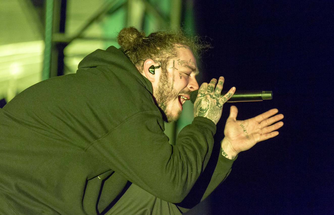 Post Malone's new 'Always Tired' tattoo is extremely relatable
