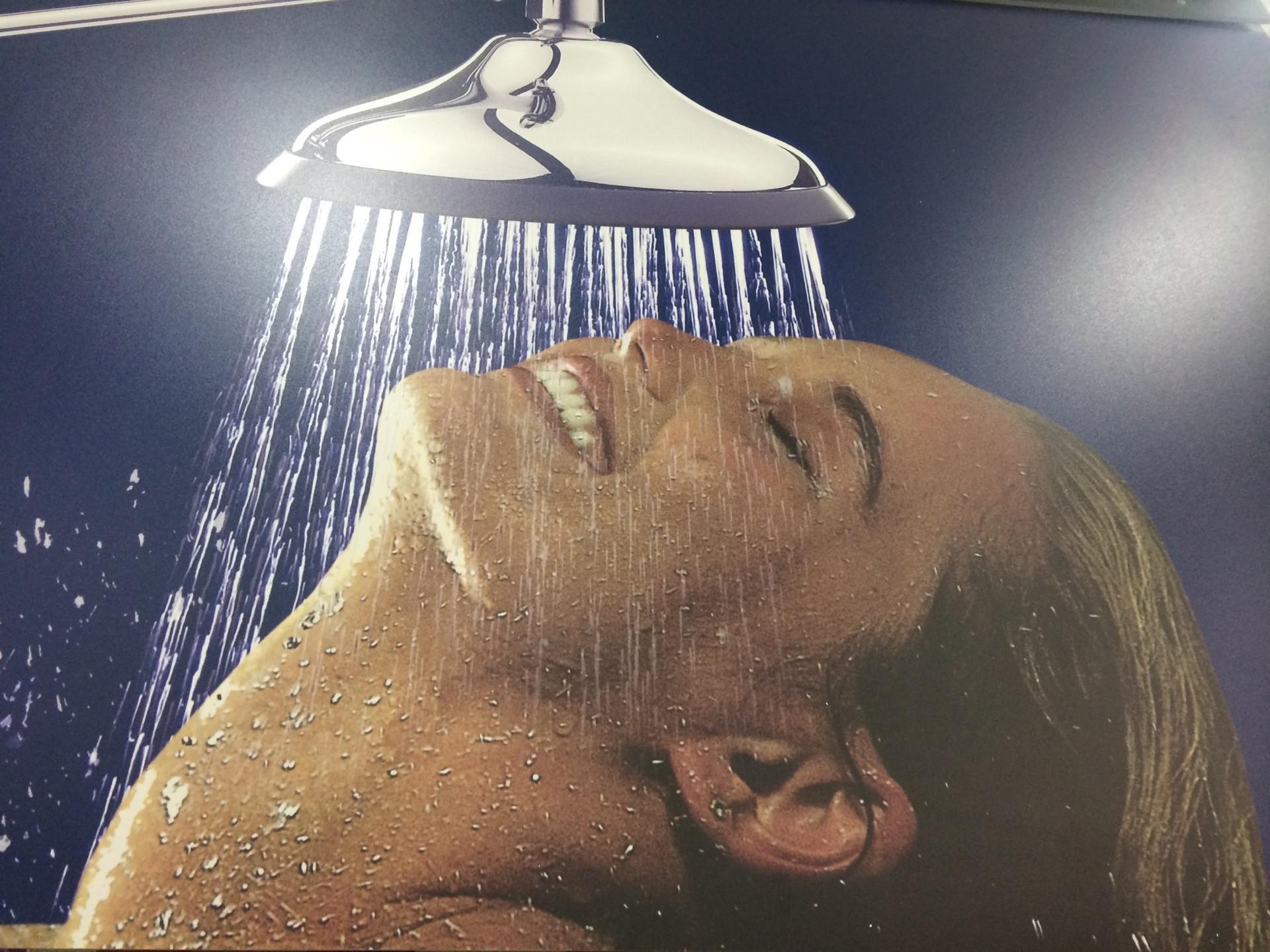 Finally! a shower for when I break my neck.