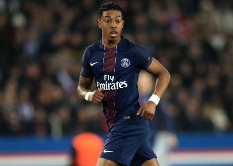 PSG's youngster. Image: PA