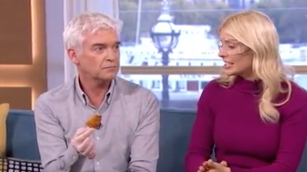 Phillip Schofield Tried The World's Hottest Chilli And It Did Not Go Down Well
