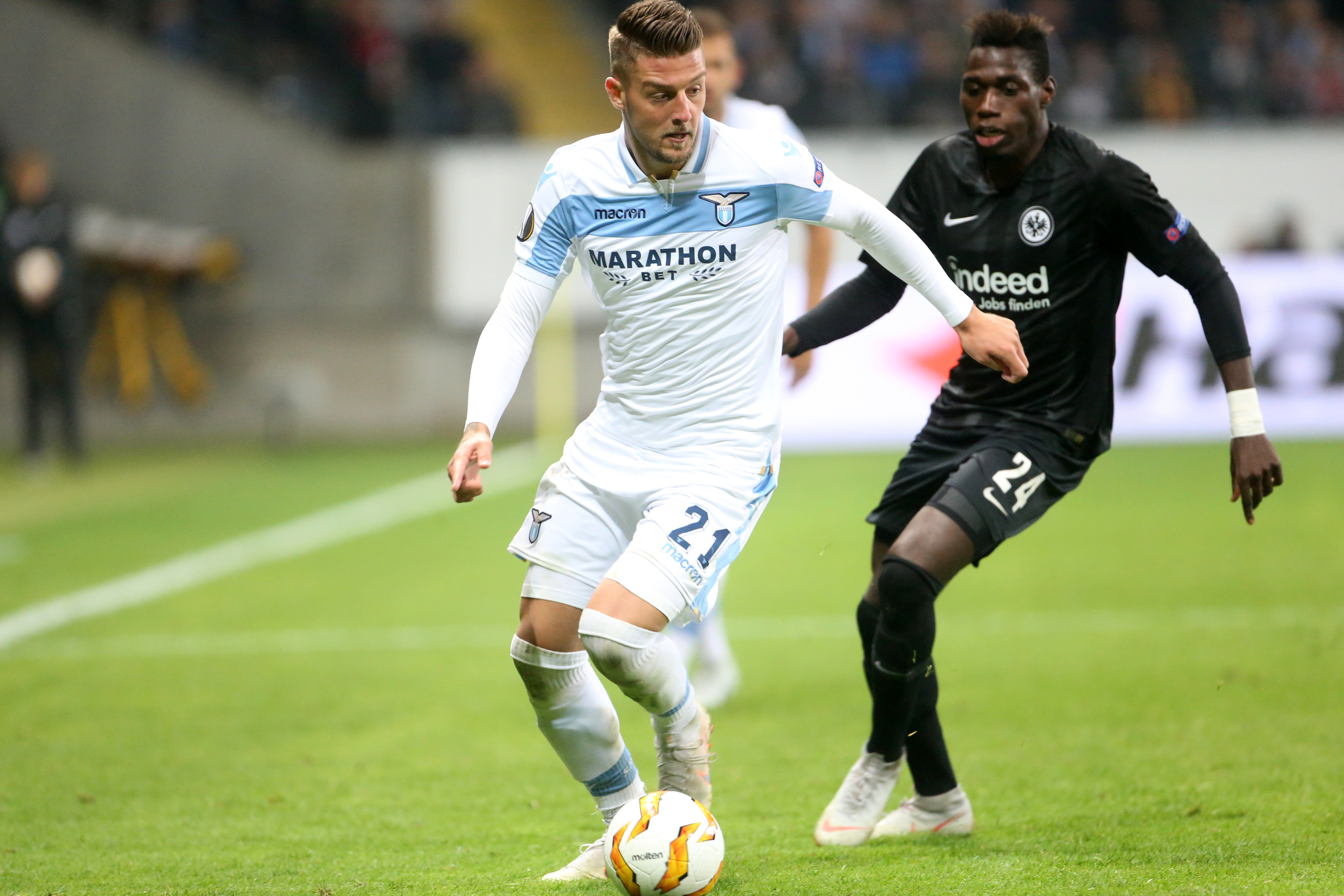 Milinkovic-Savic is in high demand across Europe. Image: PA Images