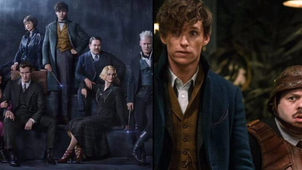 First Look At Fantastic Beasts 2 Shows Jude Law As Dumbledore