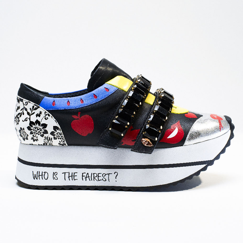 The shoes are meant to encourage power. (Credit: Ruthie Davis/Disney)