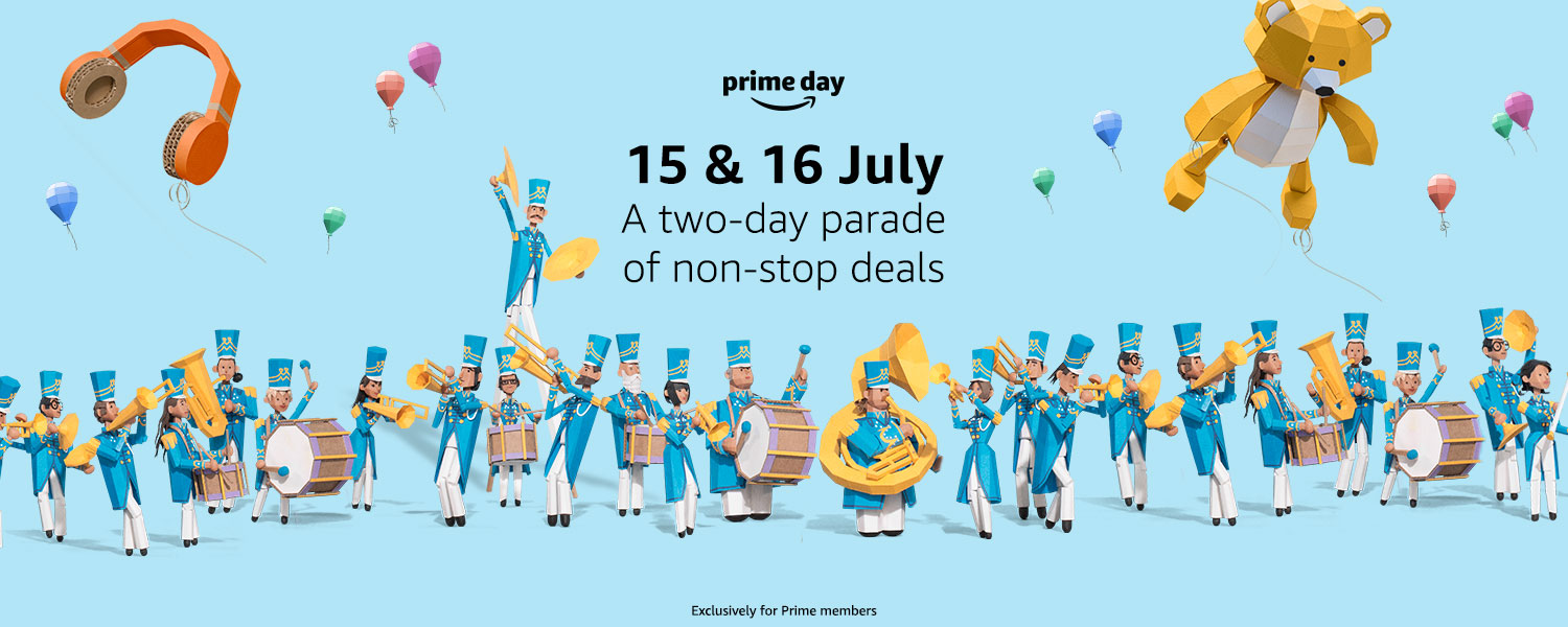 Amazon Prime Day 2019 will have plenty of tech at reduced prices.