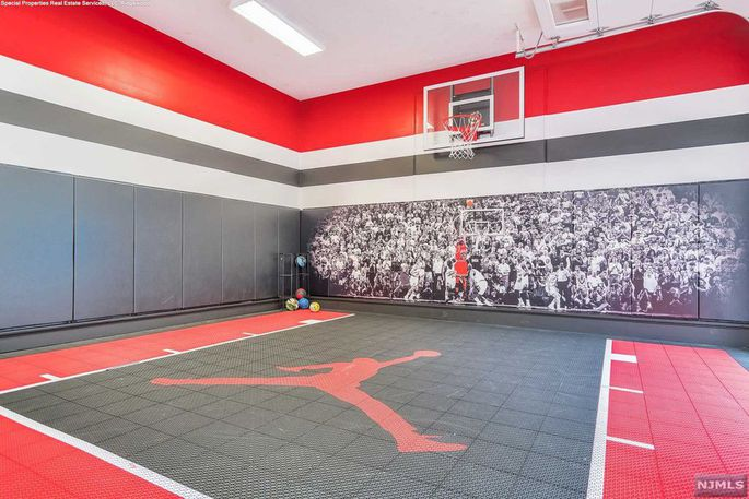 A basketball court for when your mates come round. Image: Realtor