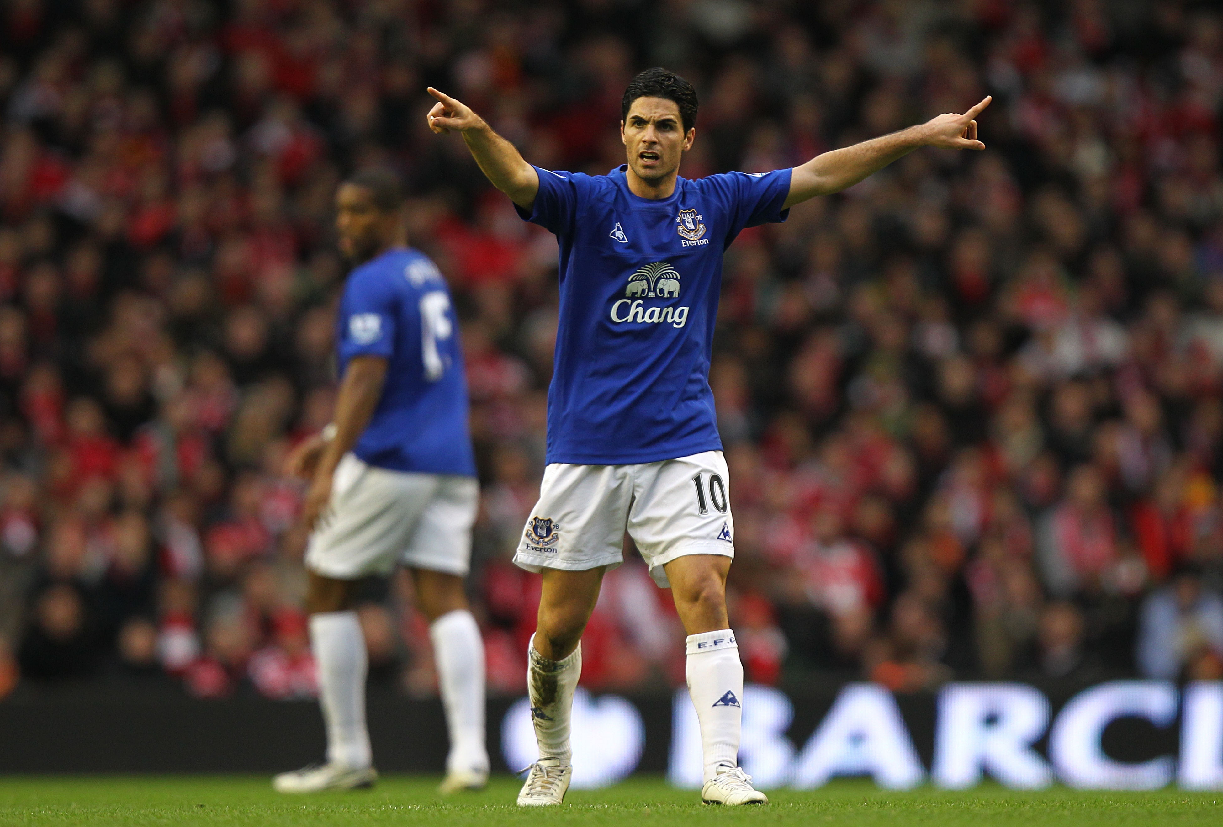 Image result for mikel arteta everton