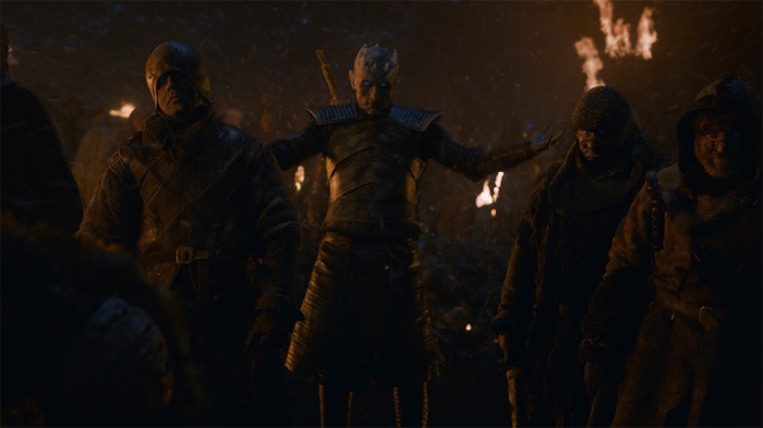 It was set at night, after all. Credit: HBO