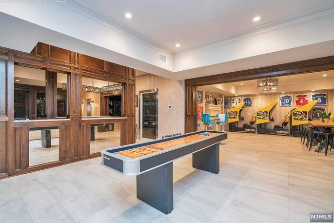 The games room looks pretty awesome too. Image: Realtor