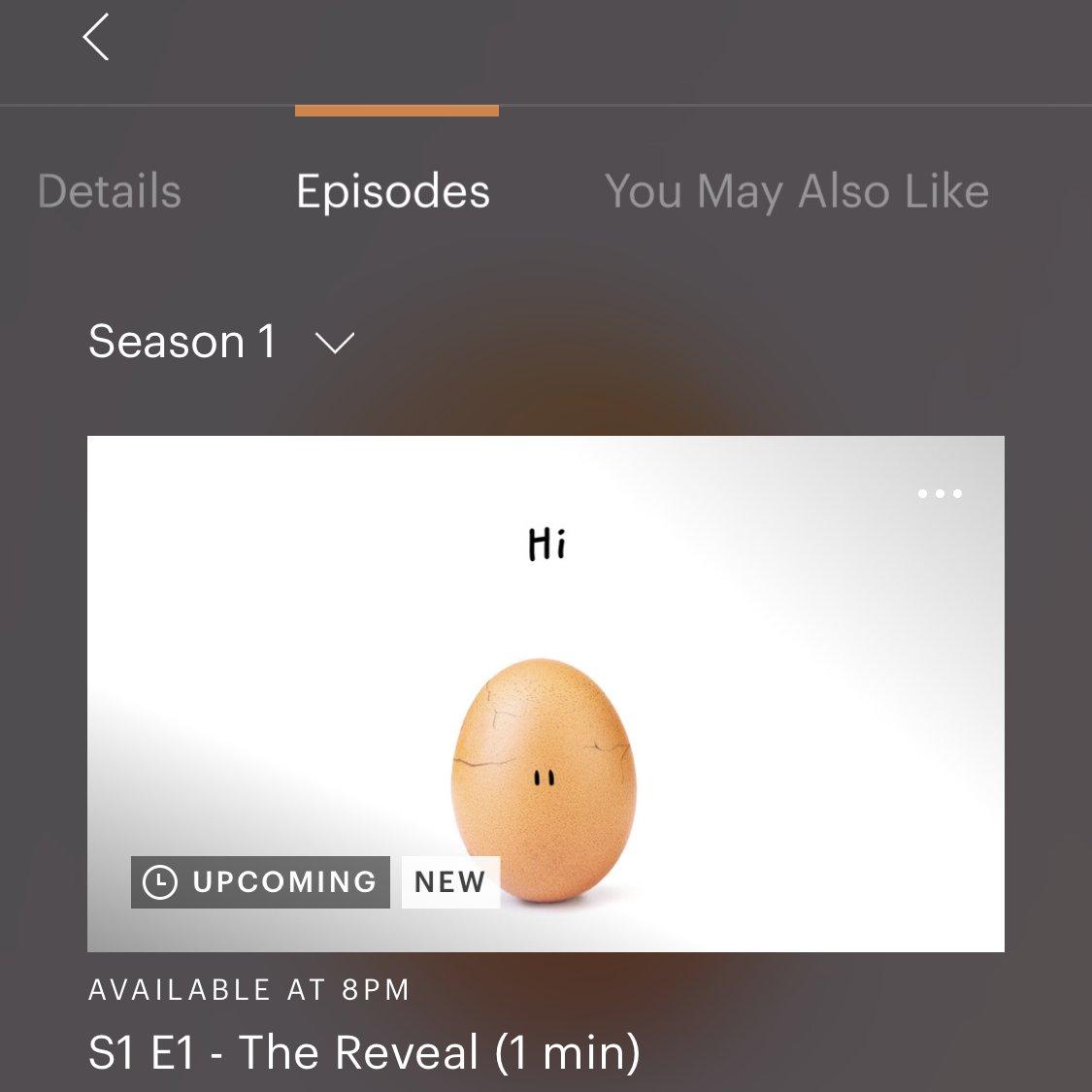 The big reveal. Credit: Twitter/Hulu
