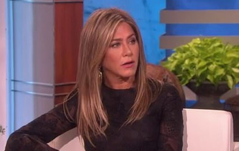 She said she and the rest of the gang were up for it. Credit: The Ellen DeGeneres Show