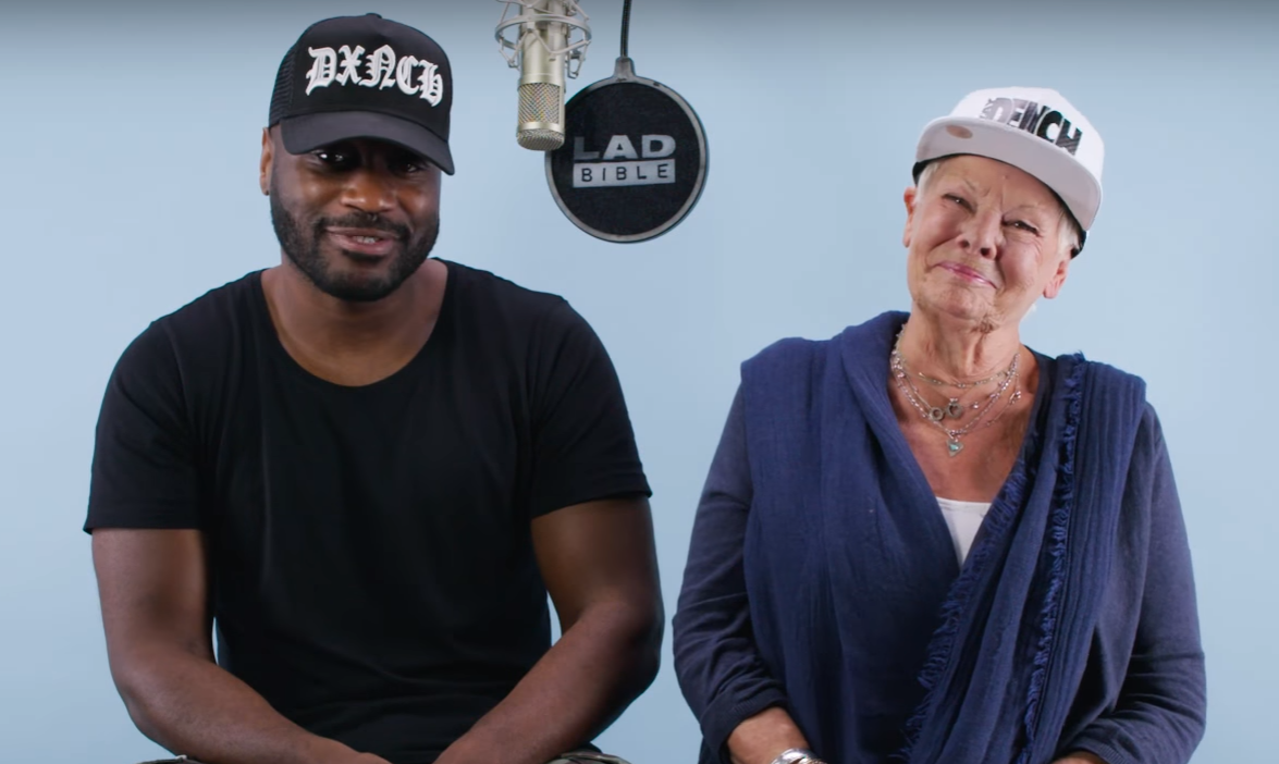Judi Dench and Lethal Bizzle