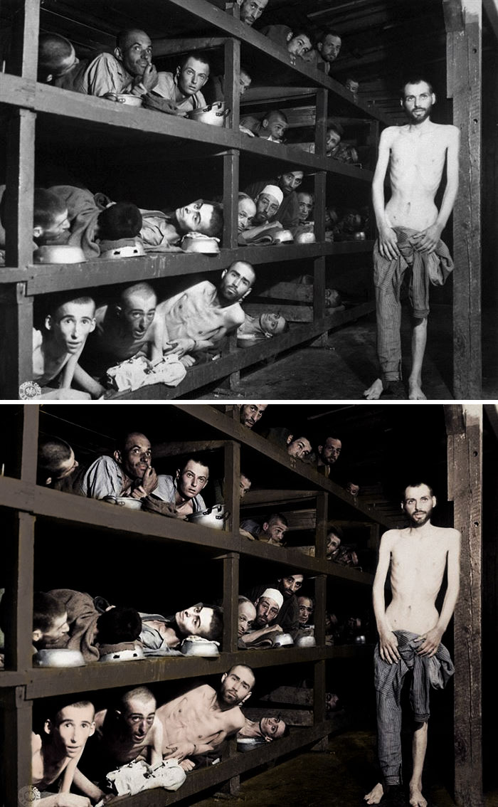According to a study, 41 percent of 18-34-year-olds believe that two million or fewer Jews were killed in the Holocaust. Credit: Joachim West